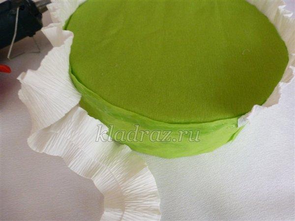 Как сделать из бумаги торт своими руками
