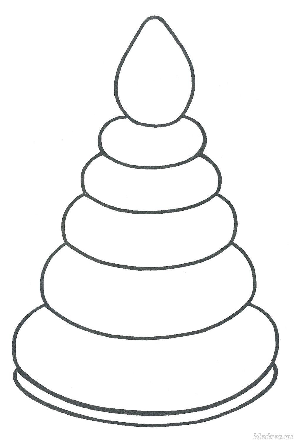 Раскраски «Игрушки» для детей 3-4 лет распечатать бесплатно