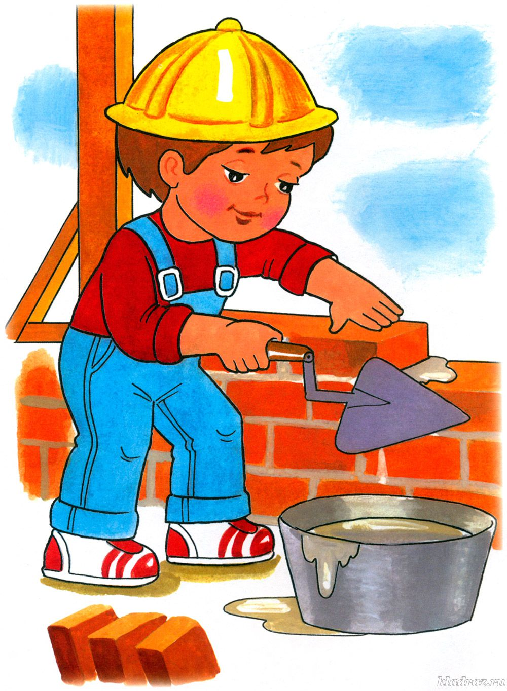 Картинка мальчик трудится