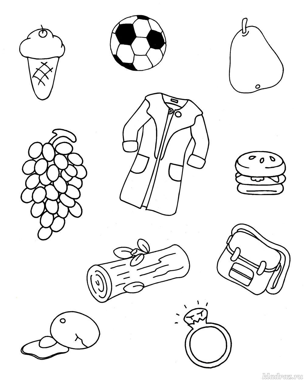 Развивающие задания для детей 4-5 лет в картинках