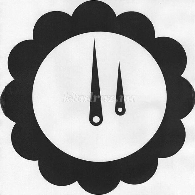 Как сделать циферблат для часов в фотошопе