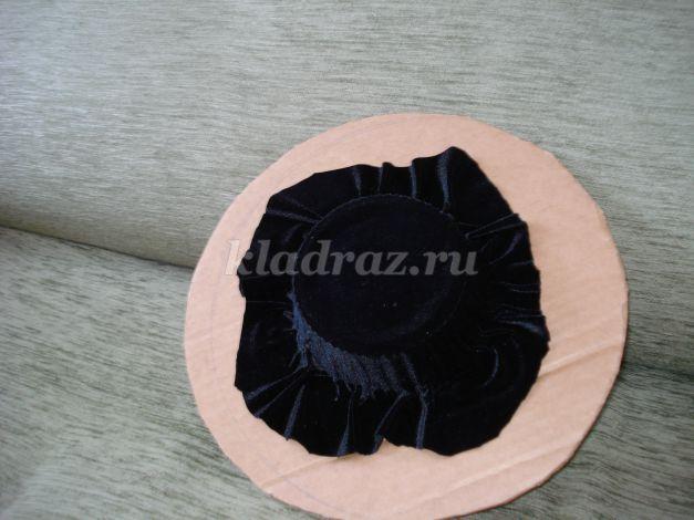 Шляпка из природных материалов