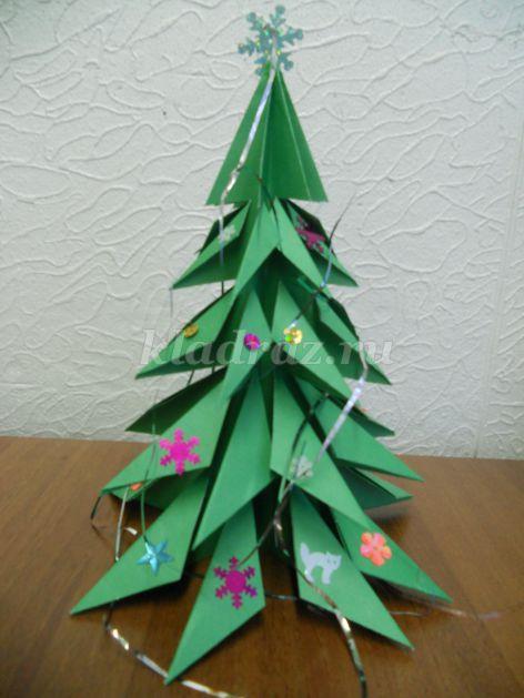 3655_3d84252213c10b4fa569e27f2cc1ac91 Как сделать модульную елочку в технике оригами