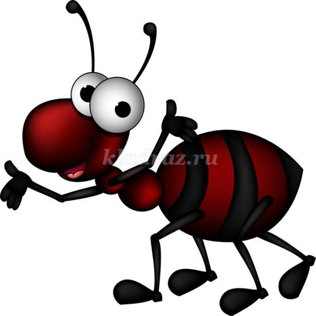 муравей для детей картинки