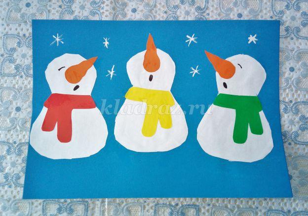 12667_fa5df9e34b01aee66cdf13c55d86503a Поделка снеговик своими руками
