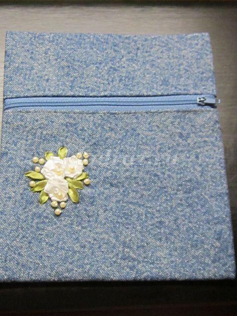 1d9fdf56aa9e Ижевска Цель: изготовление косметички из старых джинсов. Задачи: развивать  индивидуальные творческие способности, мелкую моторику рук;