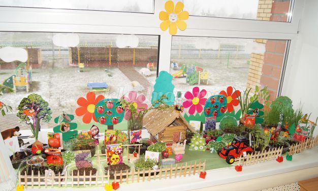 обложка для огорода на окне