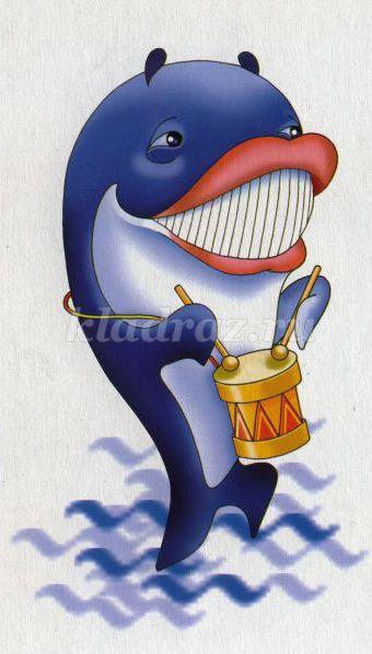 картинка как кит марширует прекрасно действует гормональную