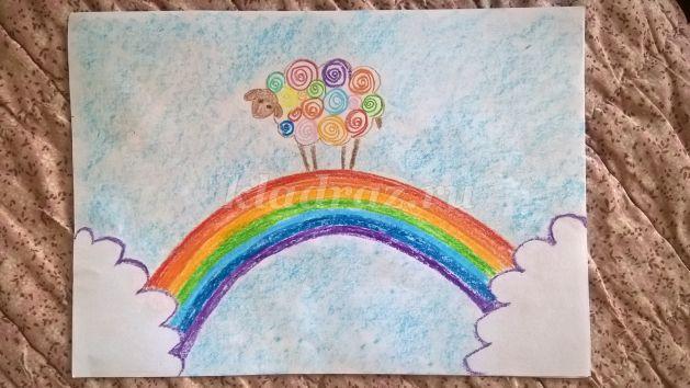 Изо 3 класс рисование мелками