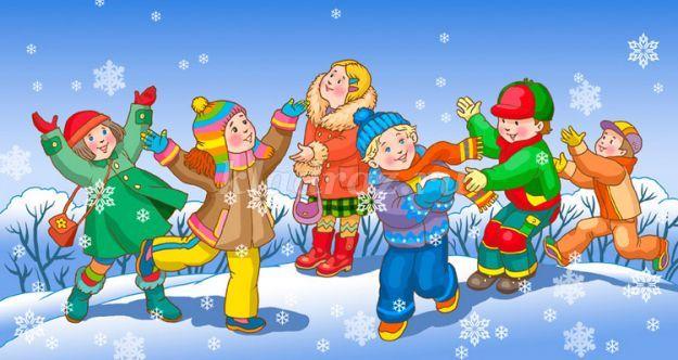 Прогулка «Зимние забавы». Вторая младшая группа