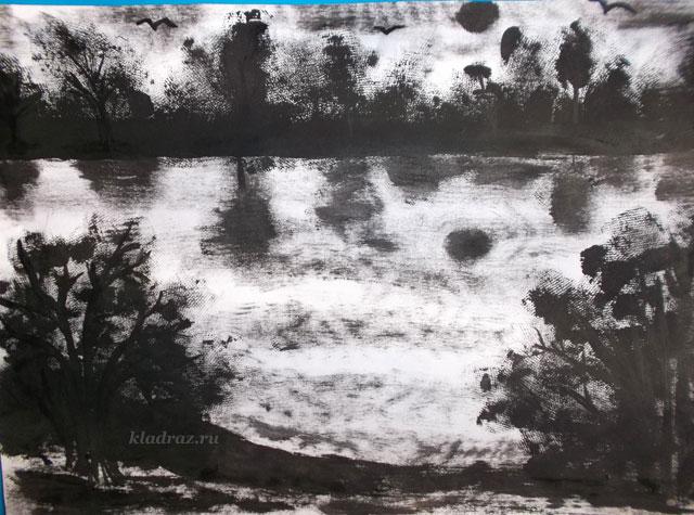Нетрадиционная техника рисования в картинках