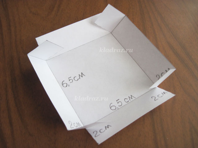 Как из картона сделать коробочку круглую 66