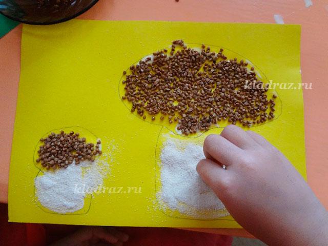 Поделки для детского сада на тему грибы 83