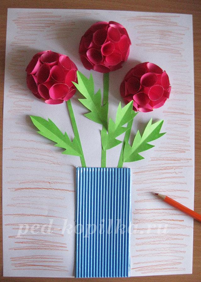 Подарок для мамы из бумаги своими руками