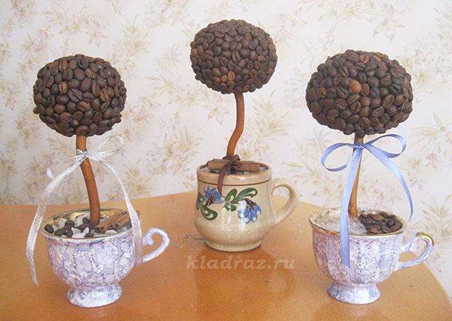 Из зерен кофе своими руками