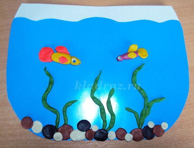 95Рыбки в аквариум своими руками