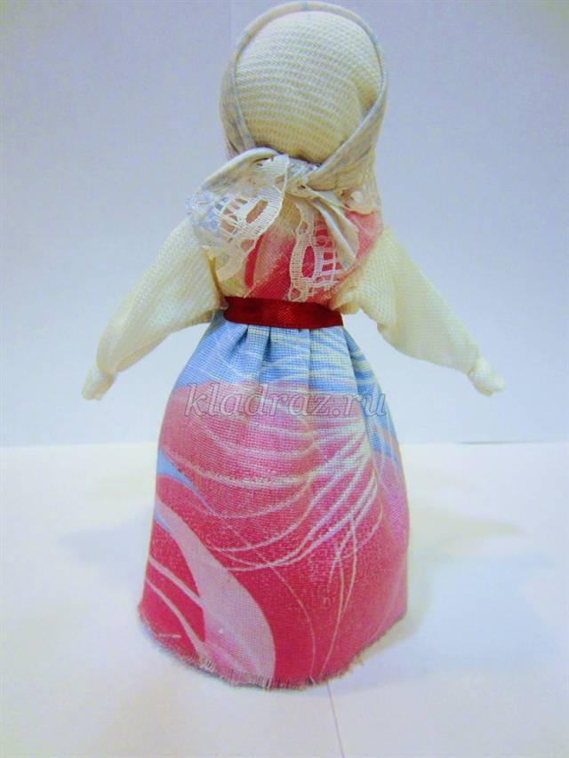 Тряпичная кукла закрутка своими руками