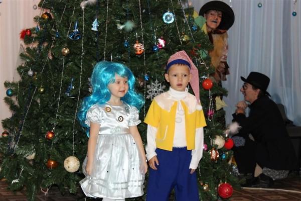 Новогодний сценарий для детского сада с мальвиной буратино