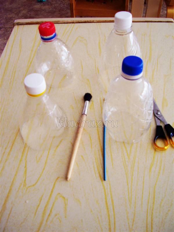 Слонёнок из пластиковых бутылок. Мастер-класс