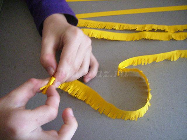 Как сделать одуванчик своими руками из бумаги