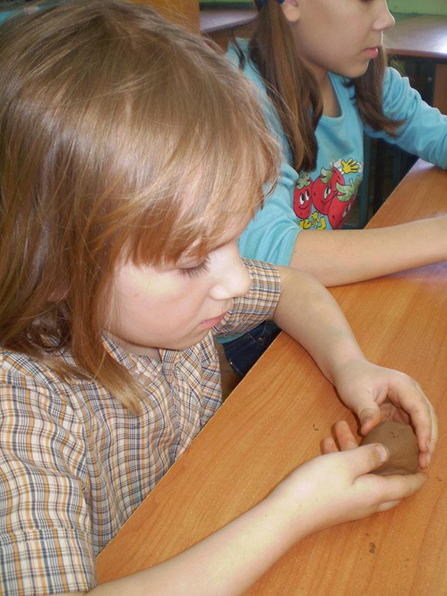 Поделки из глины с детьми 6 лет