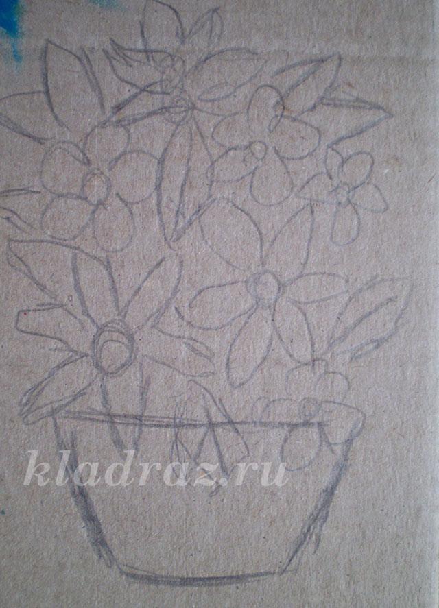 Корзины с цветами из гофрированной бумаги своими руками