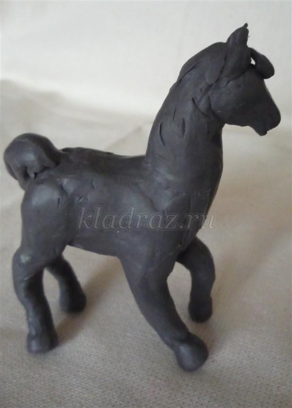 Лошадь из пластилина. Мастер-класс