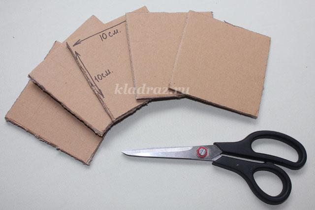 Для дисков своими руками из картона