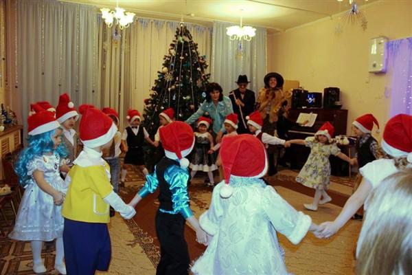 Детский сад сценарии про новый год