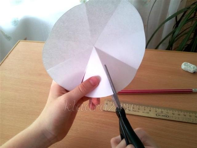 Сделать кувшинки из бумаги своими руками
