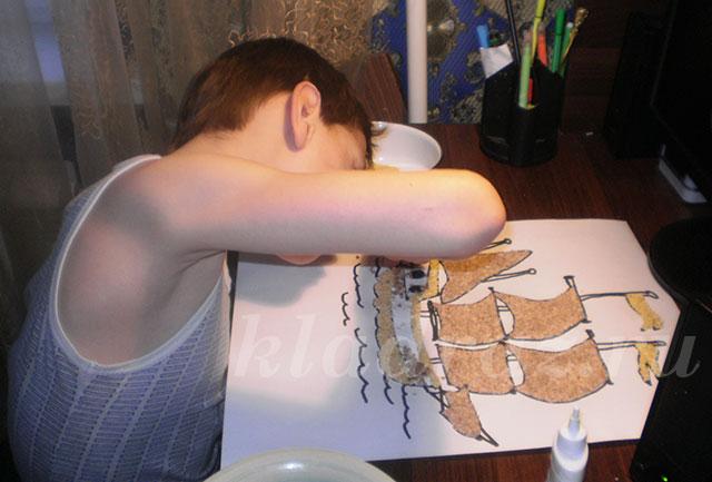 Квадратная техника плетения бисером