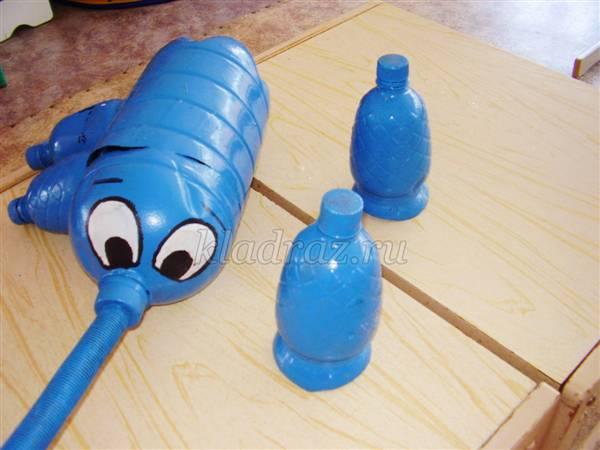 Как сделать слоника из бутылки 586
