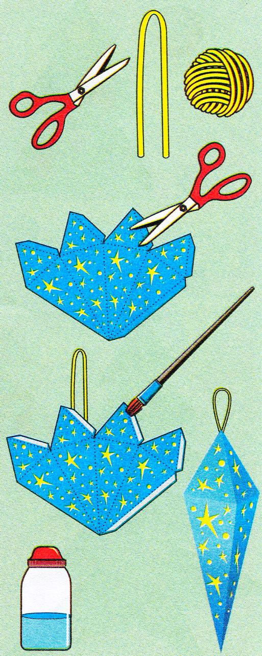 Шаблоны ёлочка из бумаги своими руками