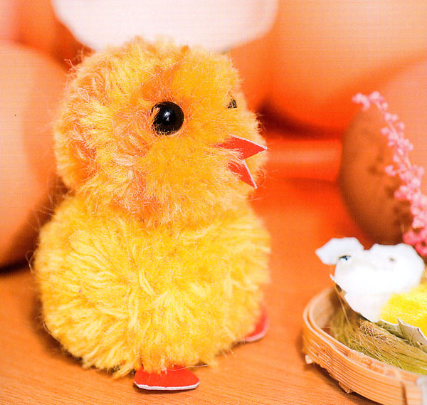 Сделать цыплёнка своими руками
