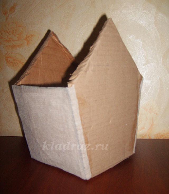 Как сделать скворечник своими руками из коробки