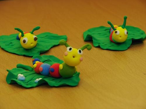 Схема для лепки в детском саду