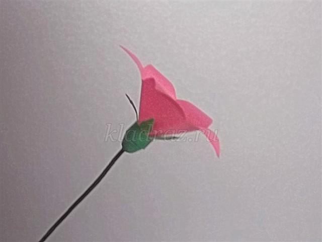 Поделки цветы колокольчики своими руками 57