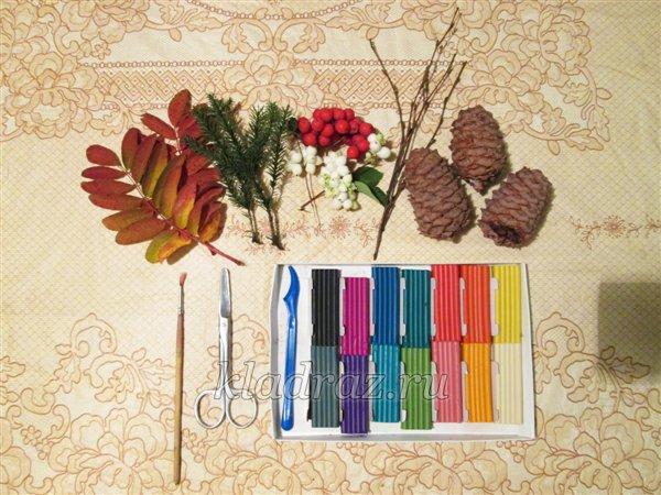 Поделки для детей для сада к осени