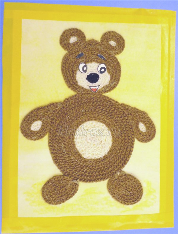 Ушки медведя своими руками из бумаги