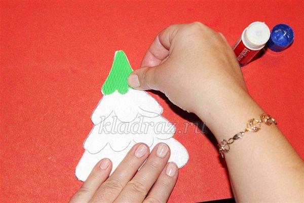 Дед мороз из бумаги своими руками поэтапно