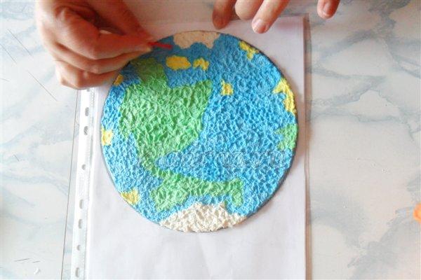 Поделка планета мира