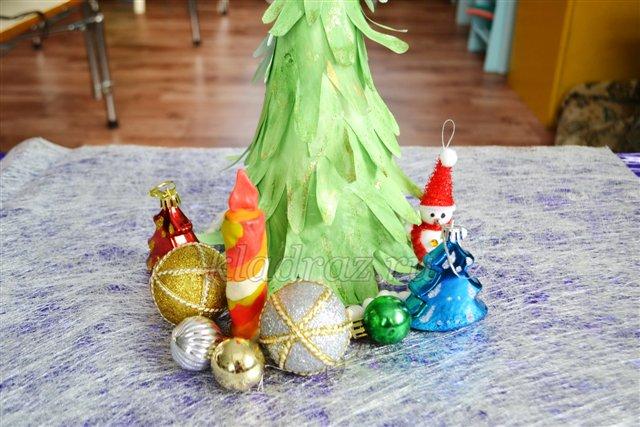 Мастер - класс «Новогодняя Ёлка» из детских ладошек своими руками