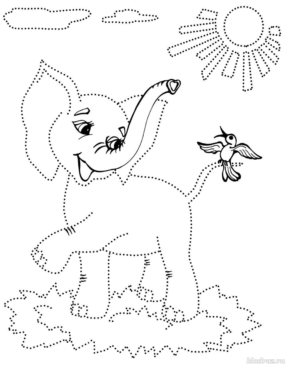 Раскраски для детей 6-7 лет
