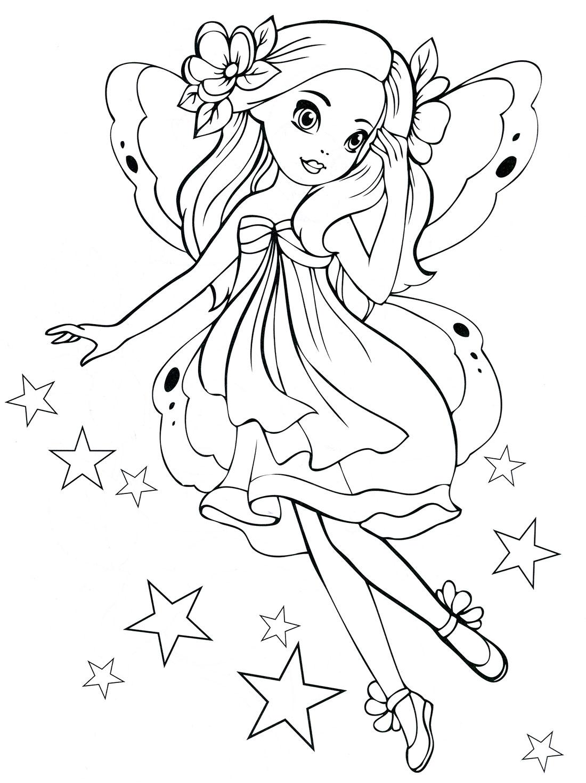 Распечатать раскраски для девочек 6 лет - 8