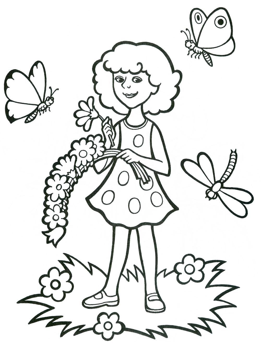 Раскраски для детей. Времена года