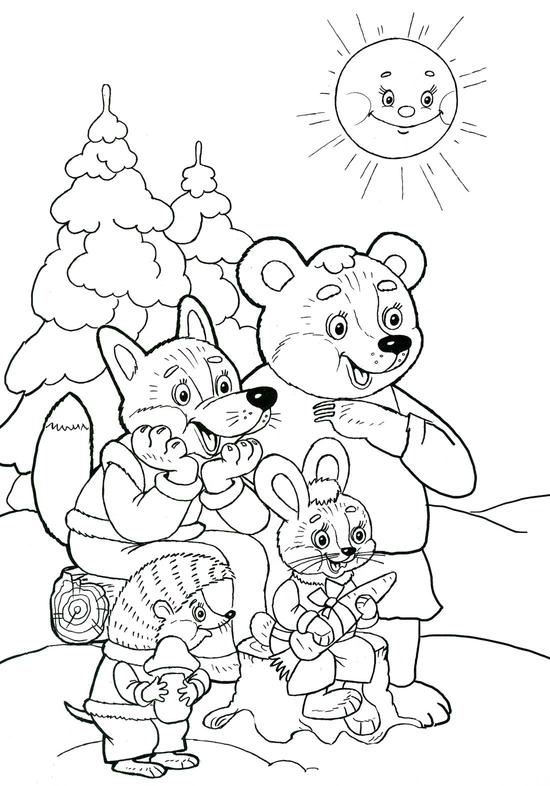 Раскраски ягод для детей