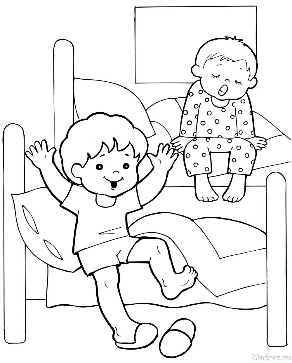 Рисунок в садик здоровый образ жизни | Мой детский сад