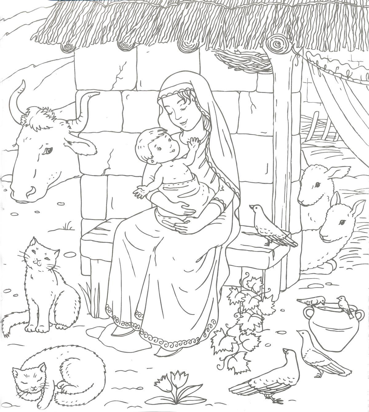 Поделки и рисунки к рождеству христову своими руками