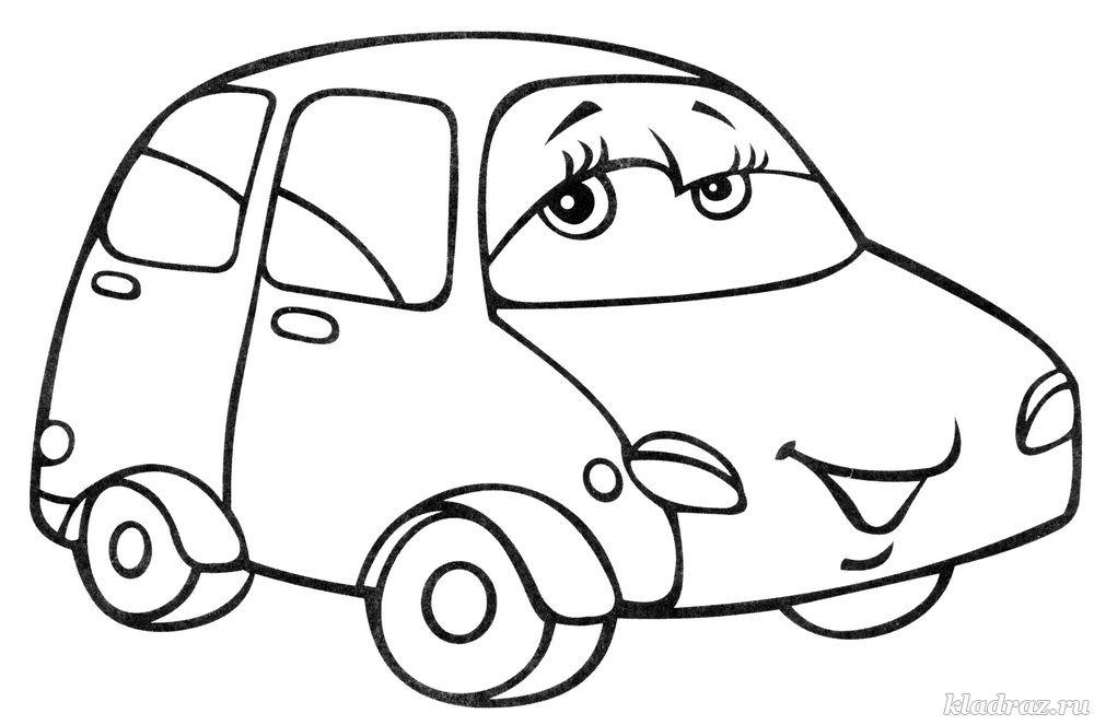Раскраски на тему Транспорт для детей от 2 – х лет