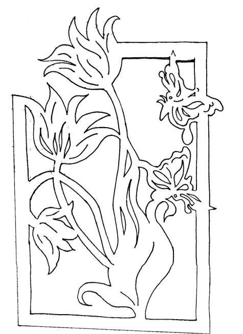Цветы для вырезания картинки 8